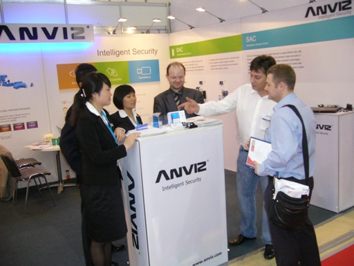 Стенд ANVIZ GLOBAL INC.